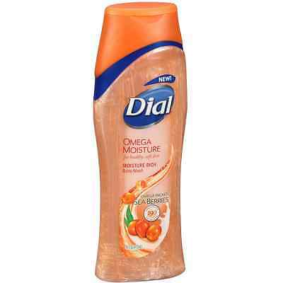 Dial Omega Moisture Rich Body Wash, Omega Packed Sea Berries 16 oz