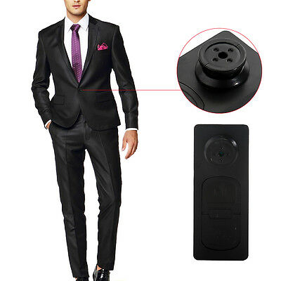 Mini Button Pinhole Spy Cam Video Spy Micro Hidden Security Camera DVR Recorde
