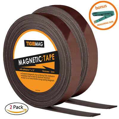 Adhesive Magnet Tape - 2 Flexible Magnetic Tape 1