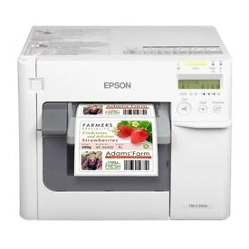 Epson C3500 Label Printer (PC) only a few months old inc £100's worth of labels. Must collect !