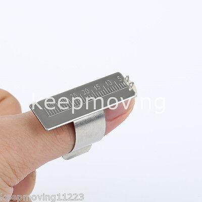 1 Pc Dental Endo Ruler Ring Endo Ruler Finger Ring 35mm Endodontic Reamer Rulers