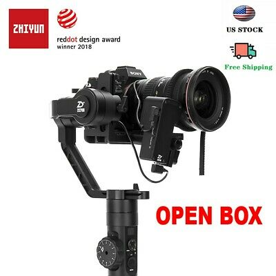 【On sale】Used Zhiyun Crane 2 3-Axis Gimbal Stabilizer (Follow Focus Included)