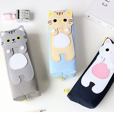 Cat Makeup For Kids (Makeup Cartoon Kids Students Stationery Cosmetic Bag Pencil Case Cute Cat)