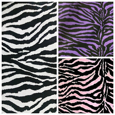 Decorator Fabric By Color - ZEBRA PRINT POLY COTTON FABRIC 60