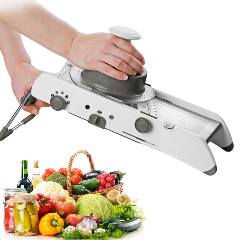 18 in 1 Mandoline Kitchen Vegetable Fruit Food Cutter Slicer Adjustable Blades