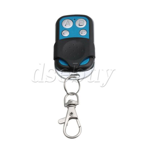 4 Channel 433MHz RF Wireless Remote Control Learning Code 1527 Receiver Key-ring