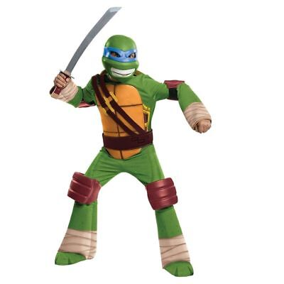 New Rubies Teenage Mutant Ninja Turtles Deluxe Leonardo Child Halloween Costume](Baby Tmnt Halloween Costumes)