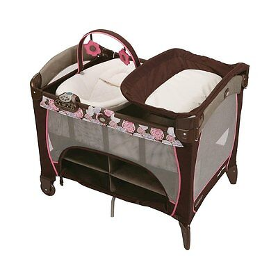 Graco Pack 'n Play Playard with Newborn Napper Station DLX in Chelle Brand New!!