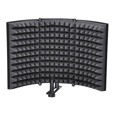 Studio Microphone Soundproof Filter Vocal Recording Foam Panel Isolation Shield