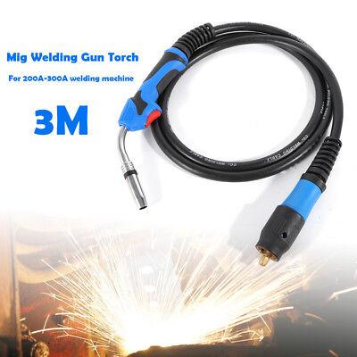 Mig Welding Gun Torch Mig Welder Stinger Parts 3m For 200-300a Welding Machine