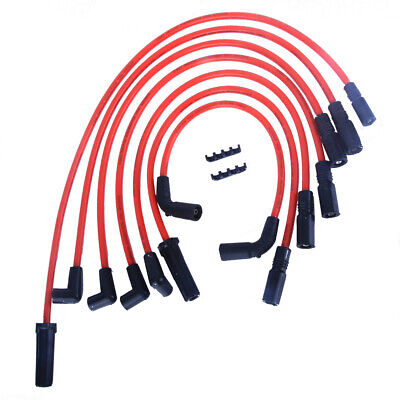 Spark Plug Wire Set Ignition Cable Fit For GMC Chevrolet Astro1998-2007 4.3L4669