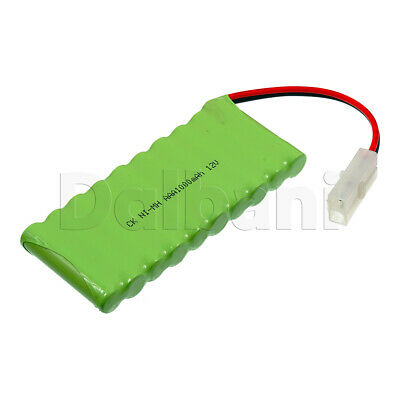 Rechargeable Battery Ni-MH AAA with Cable 2 Pin 12V 1000mAh for sale  Shipping to India