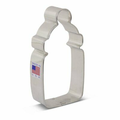"""Baby Bottle Cookie Cutter, 4"""" - Ann Clark Cookie Cutters - US Tin Plated Steel for sale  Shipping to India"""