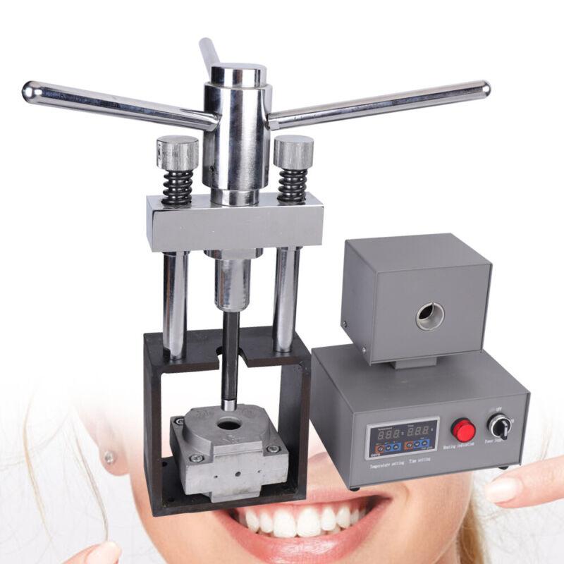 USA Dental Flexible Denture Machine 400W Heater Professional Injection Hot Press