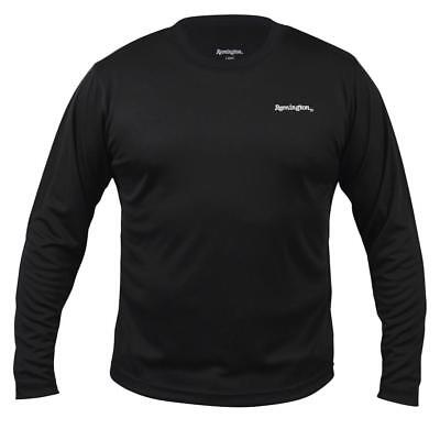 Remington Logo Microban Long Sleeve Moisture Wicking Great Layer Pc BEST PRICE!