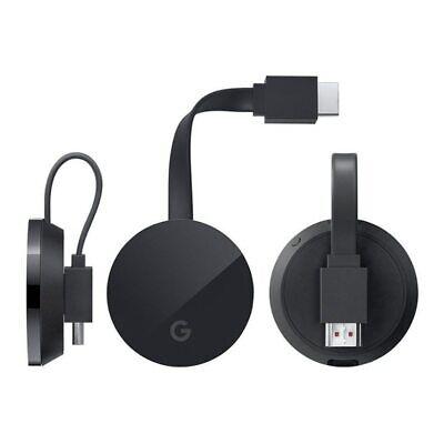 Google Chromecast Ultra (NC2-6A5-D) Wireless Display Mirroring Device NEW USA