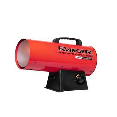 Us Stove R160lp Ranger 155000 Btu Propane Forced Portable Torpedo Air Heater