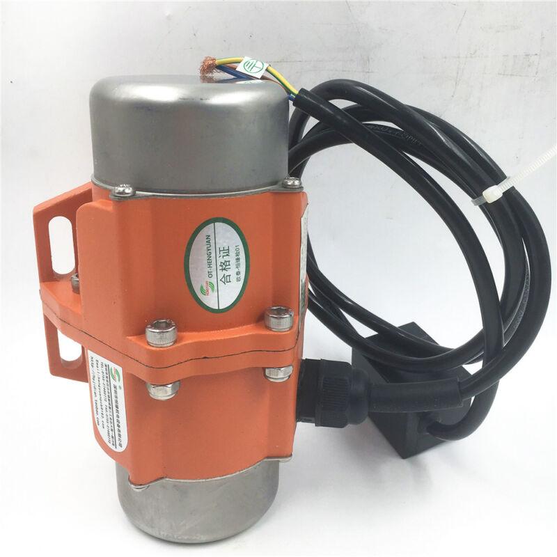 Vibration Motor 60W 110V AC 1phase Vibrating Vibrator for Sieve Feeder Hopper