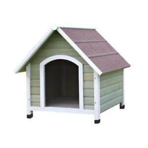 Like New, Damaged Box TRIXIE Nantucket Medium Dog House in Gray/White (Pick-up Only) - PU8