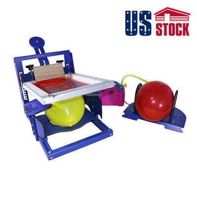 Usa-manual Balloon Silk Screen Printing Machine Kit For Balloon Diy Printer