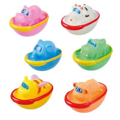Badetiere Badeschiffchen Badewanne Spritztiere Spielzeug Baby Badespielzeug