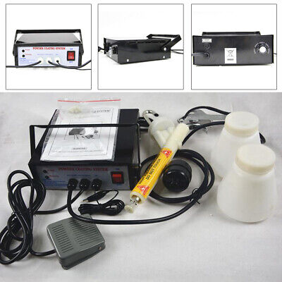 Electric Powder Coating Systemauto Body Portable Coat Machine Paint Gun Kit Usa