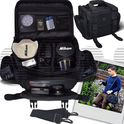 Deluxe Large Camera Padded Carrying Bag for DSLR (Deluxe Camera Bag)