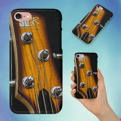 Bass Bass Guitar Chrome Hard Back Case For Apple Iphone Phone