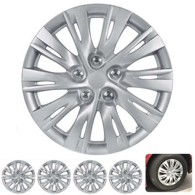 Plastic Rim - 16 Inch Hubcaps 4 Pieces Set Rim Skin Hub Cap Covers ABS Plastic Snap On Install