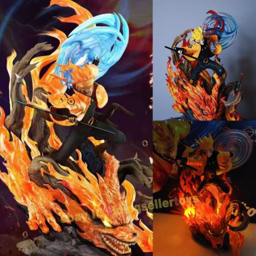 Singularity Studio Uzumaki Naruto Rikudousennin Modo Resin Model Statue W/ LED