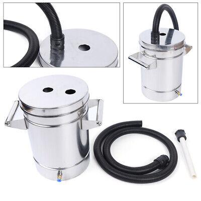 Mini Stainless Steel Fluidized Powder Hopper For Powde Coating Machine 8 Liter