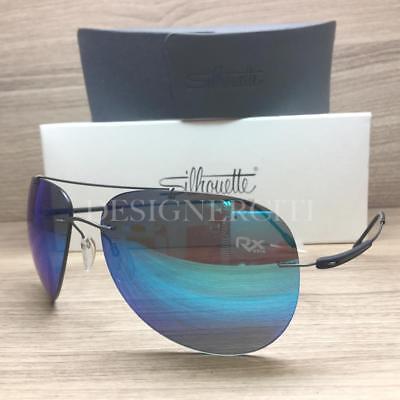 Silhouette Titan Adventurer 8667 60 6248 Sunglasses Silky Matte Grey (Adventure Sunglasses)