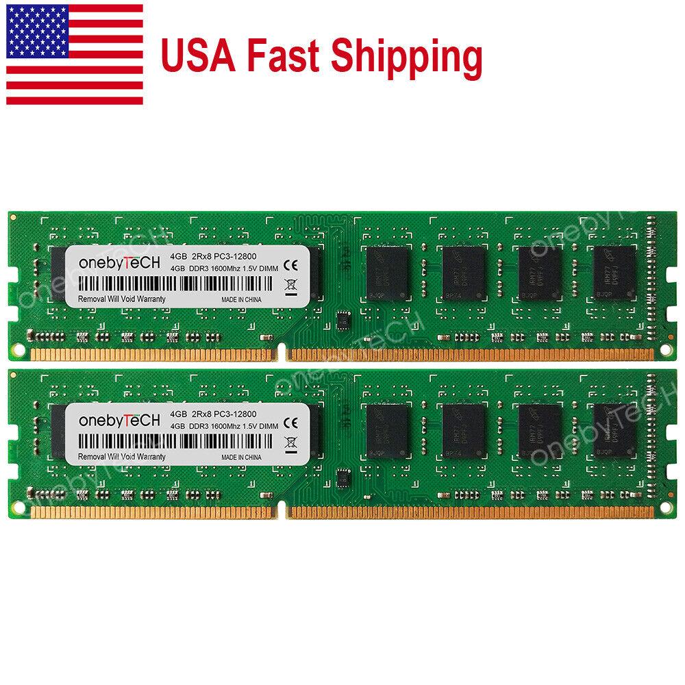 8GB 2X 4GB PC3-10600 DDR3-1333MHz Memory For Dell Optiplex 380 390 580 790 990