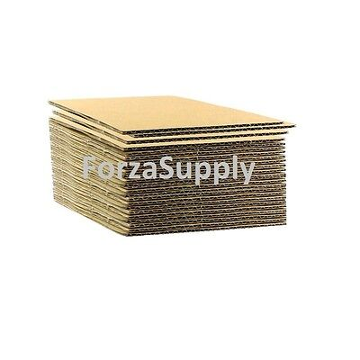 """Corrugated Cardboard Pads Sheets Inserts for Shipping Scrapbook 23 ECT 1/8"""" more"""