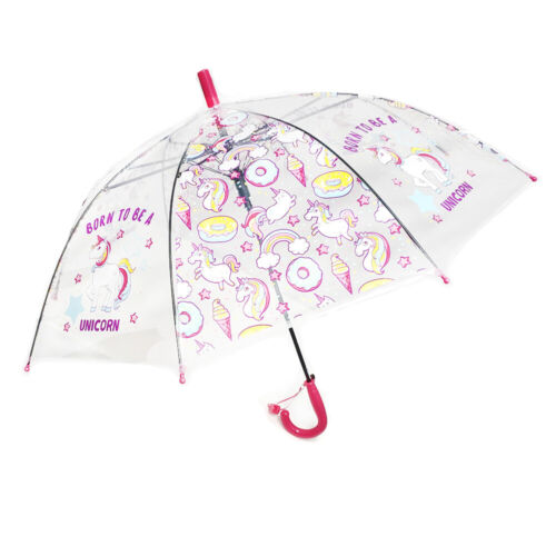 Born To be a Unicorn Umbrella for Kids and Teens