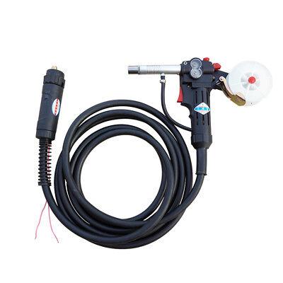 16 Feet MIG Spool Gun Push Pull Feeder Aluminum Welding Torc for Miller Guns 24V