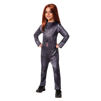 Girls Black Widow Avengers Costume - Black Widow Girl Costume