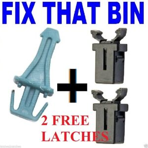 Blue brabantia touch bin lid STRIKER pin post replacement + 2 FREE CATCHES