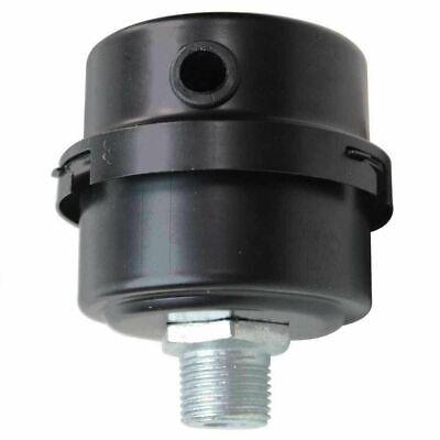 Compressor Air Intake Filter Rep 12 Mpt Paper Cartridge Metal Silencer Nice