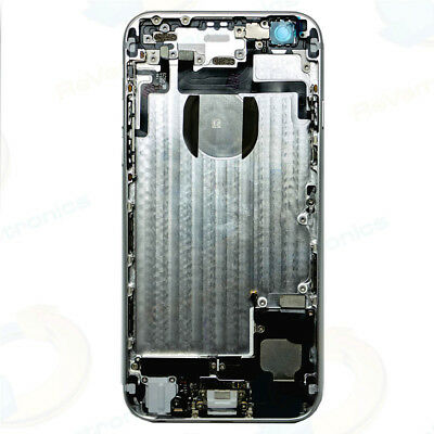 Metal Rear Back Housing Cover Replacement For iPhone 6 (SILVER) WHOLESALE! (Metal Housing)