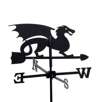 Standard Dragon Metal Weathervane (Post Fixing Bracket)