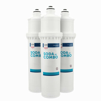 Clear Choice Soda Fountain System Filter To Replace Everpure 7cb5 Ev9618-11 3pk