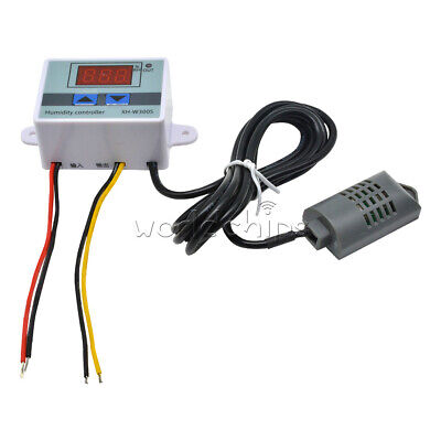 Xh-w3005 Ac 110v-220v Digital Led Humidity Controller Hygrometer Switch Sensor