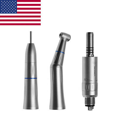 Kavo Style Dental Slow Low Speed Contra Angle Straight Air Motor 4hole Inner Kit