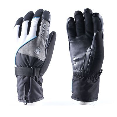 Thermal Snow - Winter Snow&Ski Gloves,Waterproof,Windproof Thermal Shell&Synthetic Leather Palm