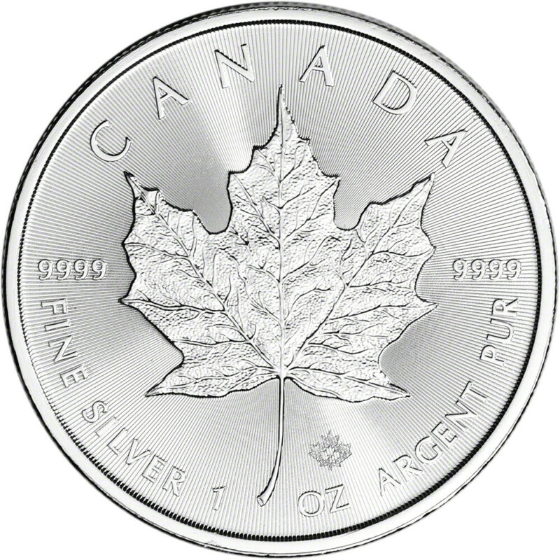 2020 Canada Silver Maple Leaf - 1 oz - $5 - BU