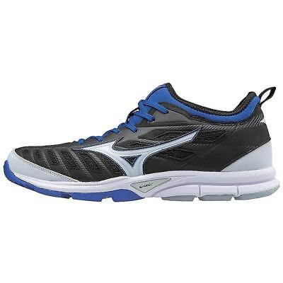 Mizuno PLAYER'S TRAINER 2 Mens Baseball TURF Shoes Black - Royal