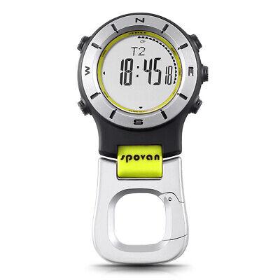 SPOVAN Smart Watch Altimeter Barometer Compass LED Clip Watch Sports T7U8 comprar usado  Enviando para Brazil