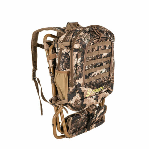 Summit Treestands Lightweight Hunting Compact Chairpack 2.5, Veil Whitetail