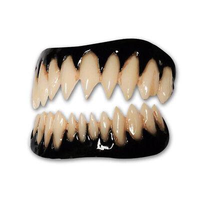 Black Costume Teeth Pennywise Appliance Veneer Dental Distortions 2.0 FX Fangs (Dental Halloween Costumes)
